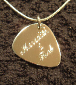 The guthrie thomas company silver gold pick necklaces 100 imprinted guitar mozeypictures Choice Image